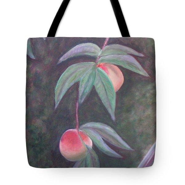 Dreaming Of Florida Peaches Tote Bag