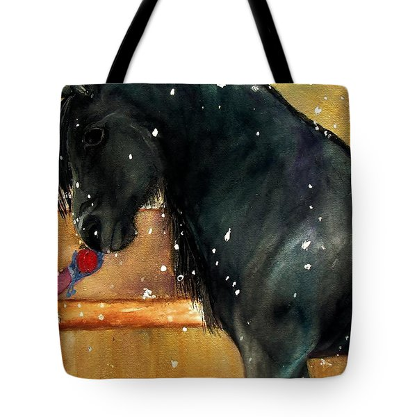 Of Girls And Horses Sold Tote Bag