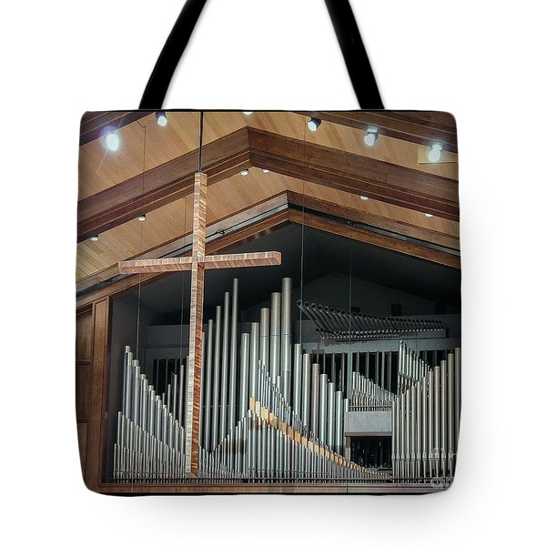 Of The Cross And Pipes Tote Bag
