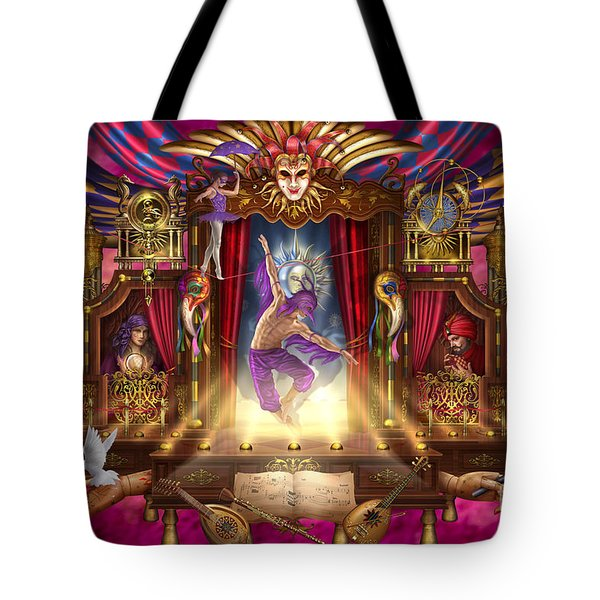 Off Broadway Tote Bag by Ciro Marchetti