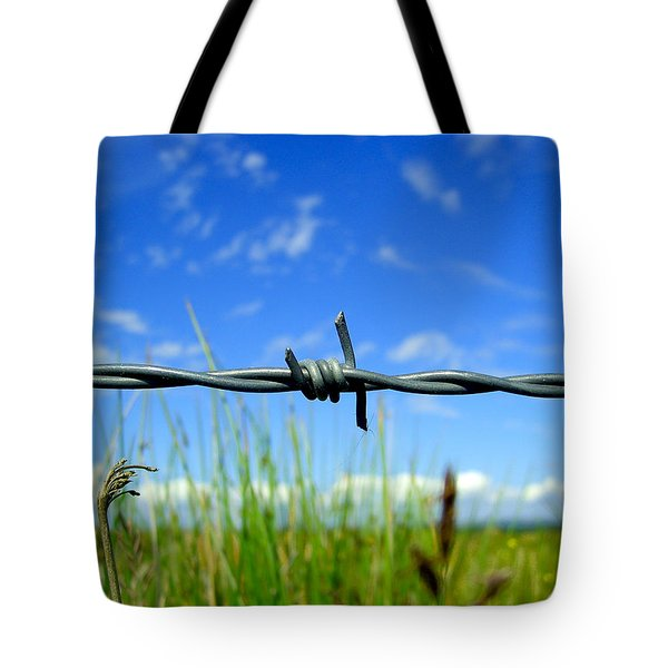 Tote Bag featuring the photograph Off Limits by Nina Ficur Feenan
