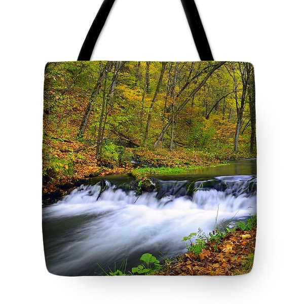 Off The Beaten Path Tote Bag by Bonfire Photography