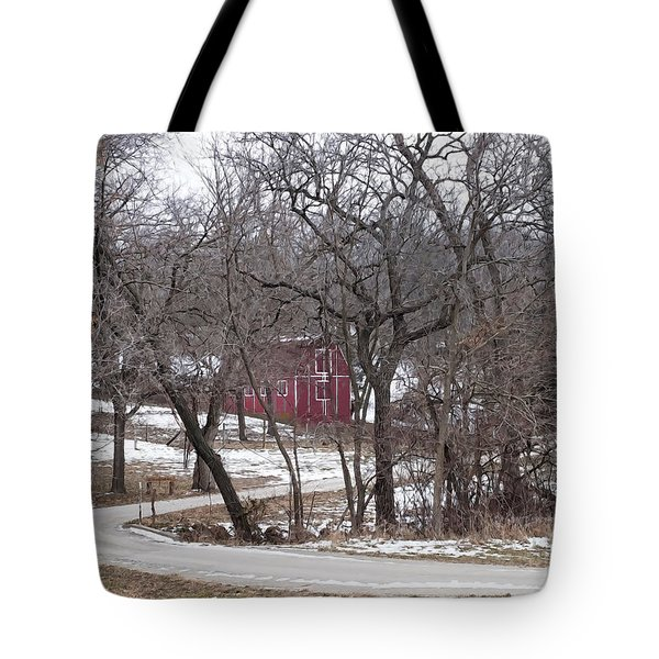 Off The Beaten Path Tote Bag by Liane Wright