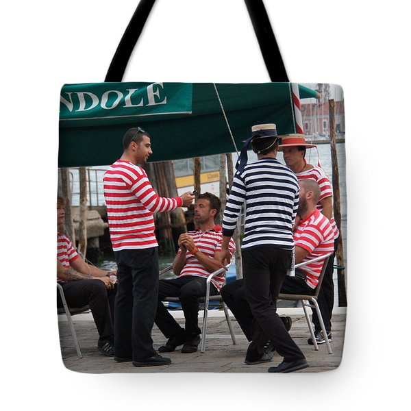 Off The Canal Tote Bag