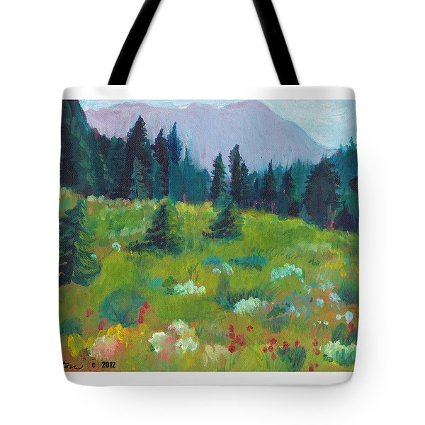 Off The Trail Tote Bag