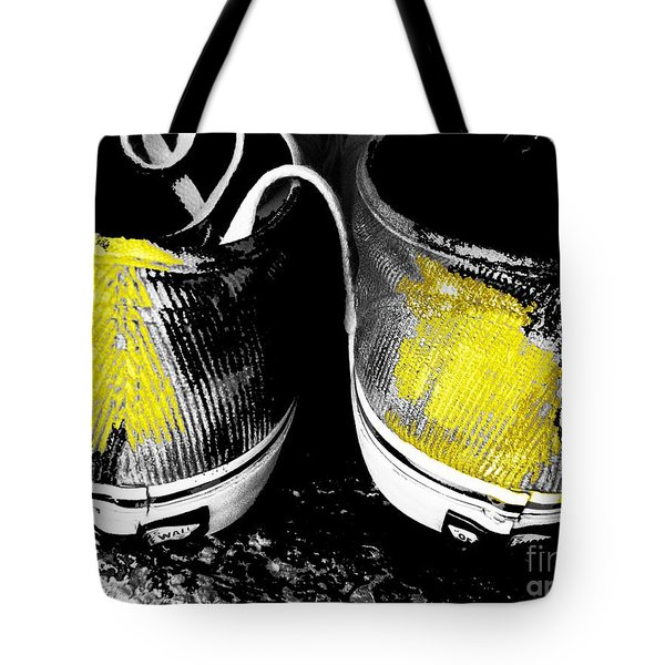 Off The Wall Tote Bag