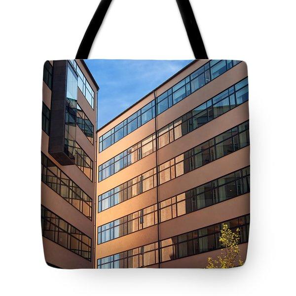 Office Building Malmo Tote Bag by Antony McAulay