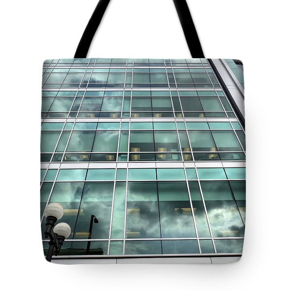 Office View Tote Bag by Dan Sproul