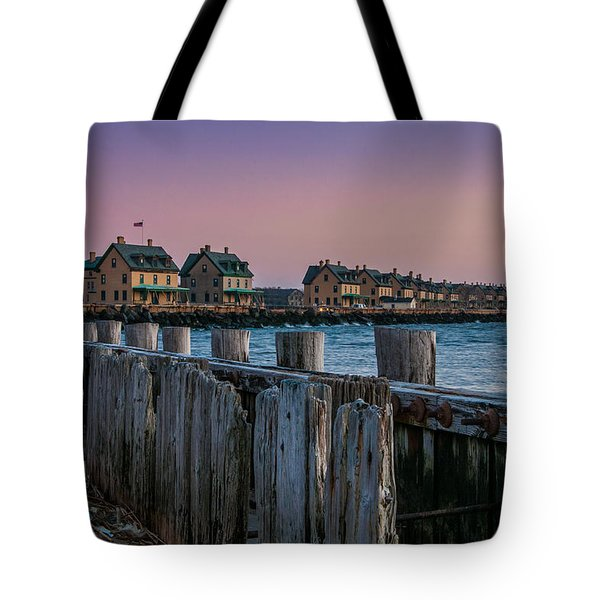 Officers' Row Tote Bag