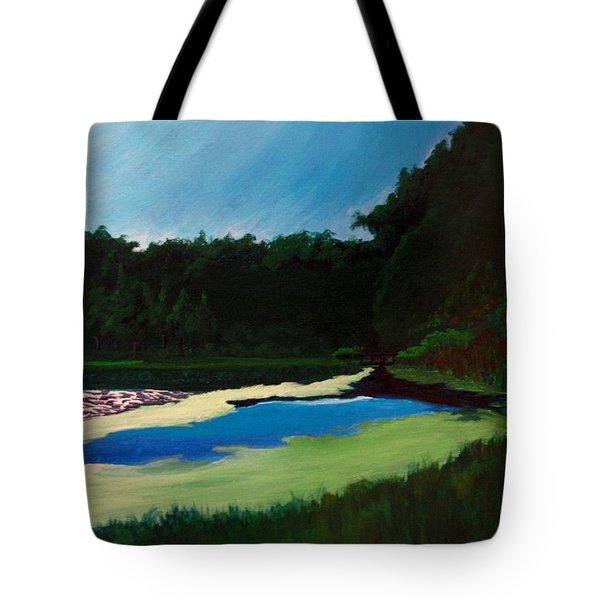 Oglebay Park - Palmer Course Tote Bag