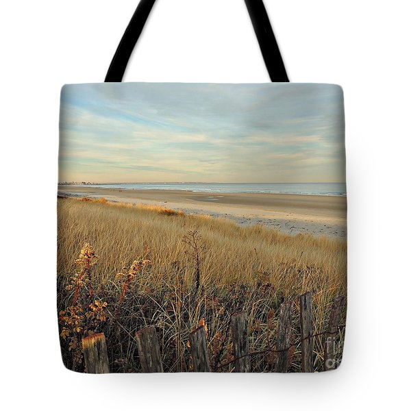 Ogunquit Beach 3 Tote Bag