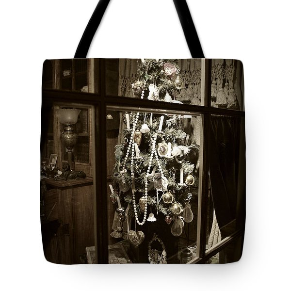 Oh Christmas Tree - Sepia Tote Bag