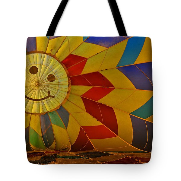 Oh Happy Day Tote Bag by Mike Martin