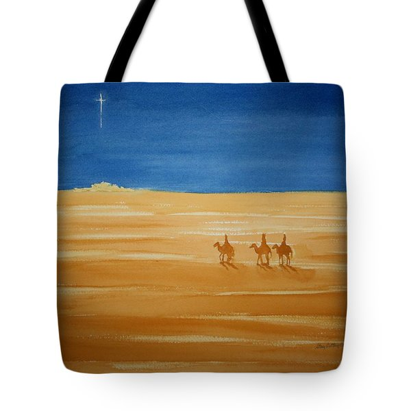 Tote Bag featuring the painting Oh Holy Night by Stacy C Bottoms