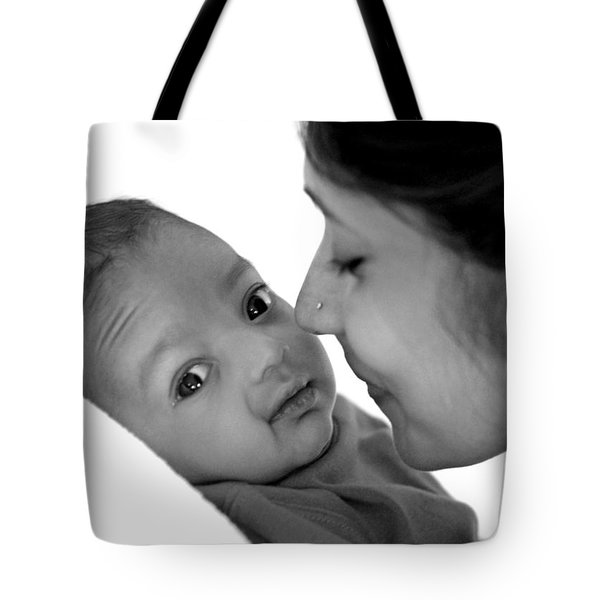 Oh Mom Tote Bag by Lisa Phillips