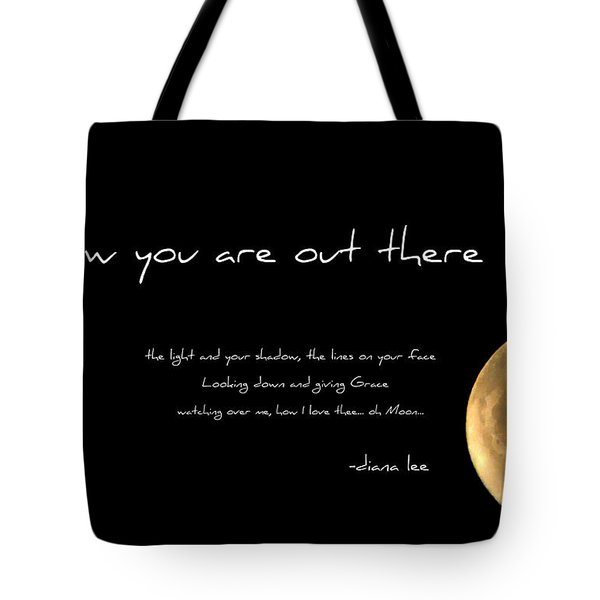Oh Moon Tote Bag