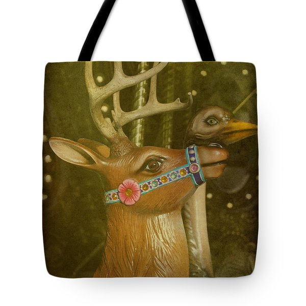 Oh My Deer Tote Bag by Jan Amiss Photography