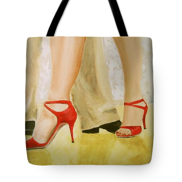 Oh Those Red Shoes Tote Bag