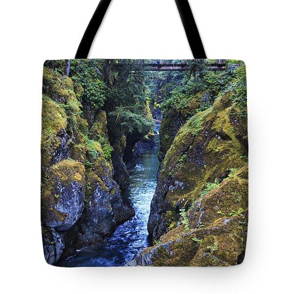 Ohanapecosh River Tote Bag
