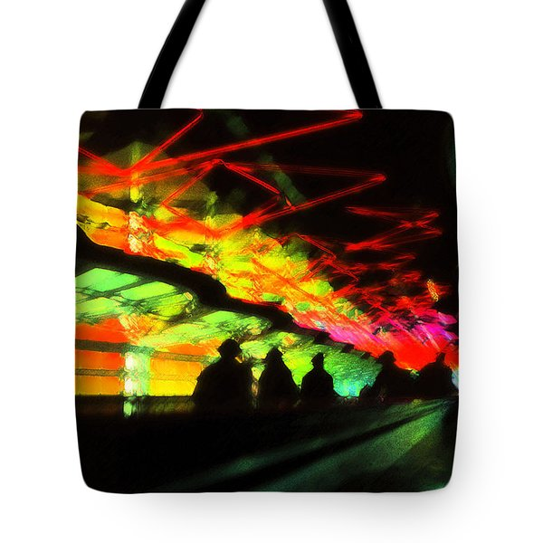 O'hare Airport Tote Bag by Jeff Breiman