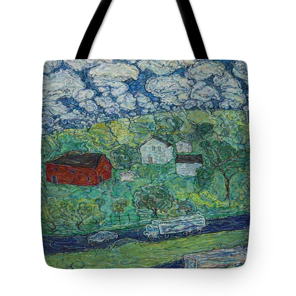 Ohio Highway Tote Bag