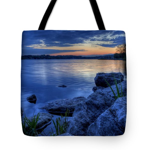 Ohio Spring Sunset Tote Bag