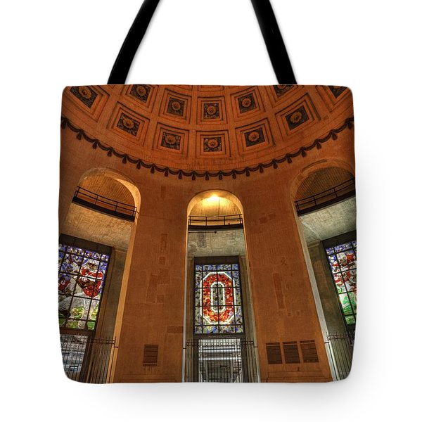 Ohio Stadium Tote Bag by David Bearden