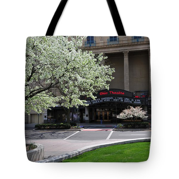 D45l42 Ohio Theatre Photo Tote Bag