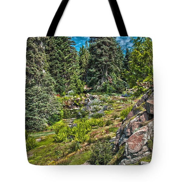 Ohme Gardens Tote Bag by Sonya Lang