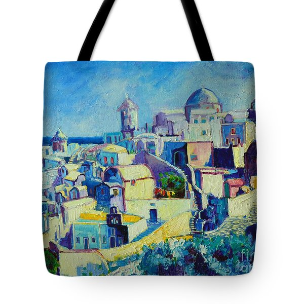 Tote Bag featuring the painting OIA by Ana Maria Edulescu