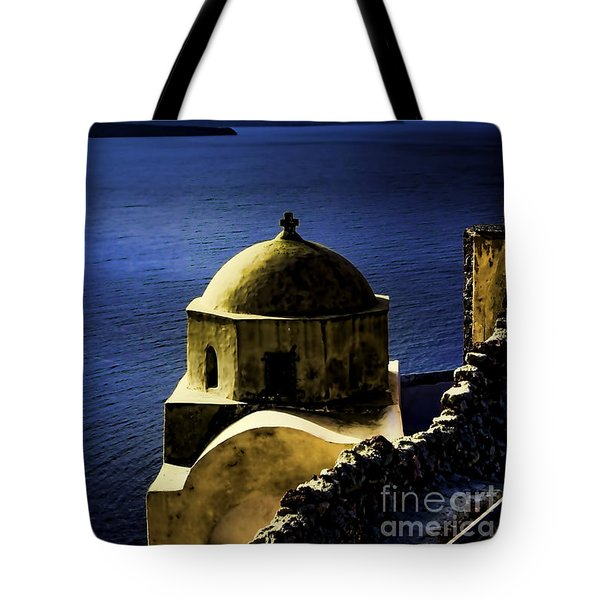 Oia Greece Tote Bag