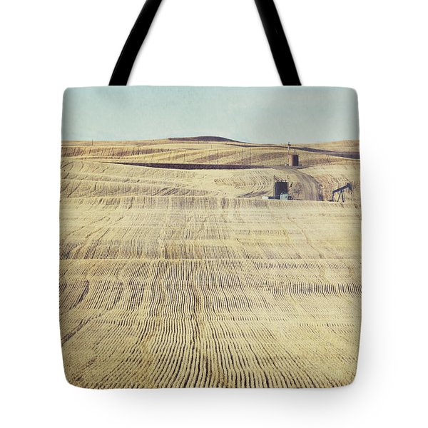 Oil And Gas Activity Among Tote Bag by Roberta Murray