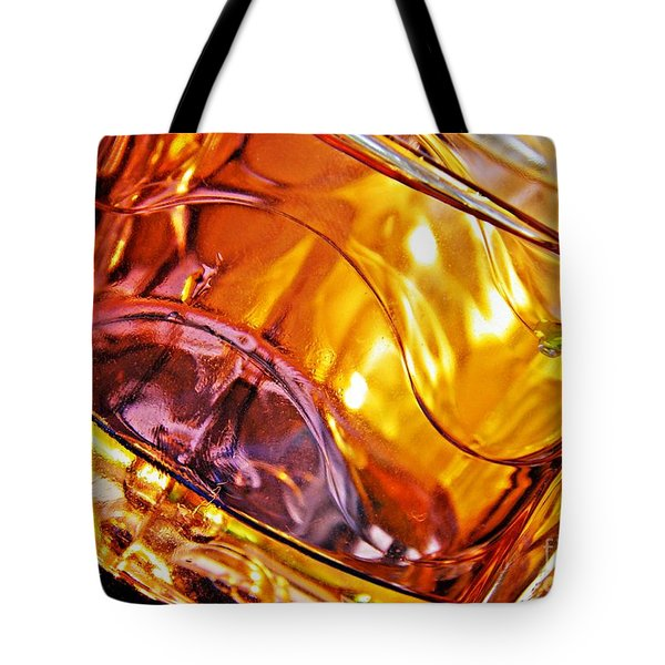 Oil And Water 13 Tote Bag by Sarah Loft