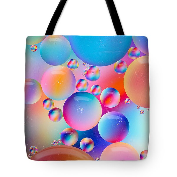 Oil And Water Tote Bag by Dawna  Moore Photography