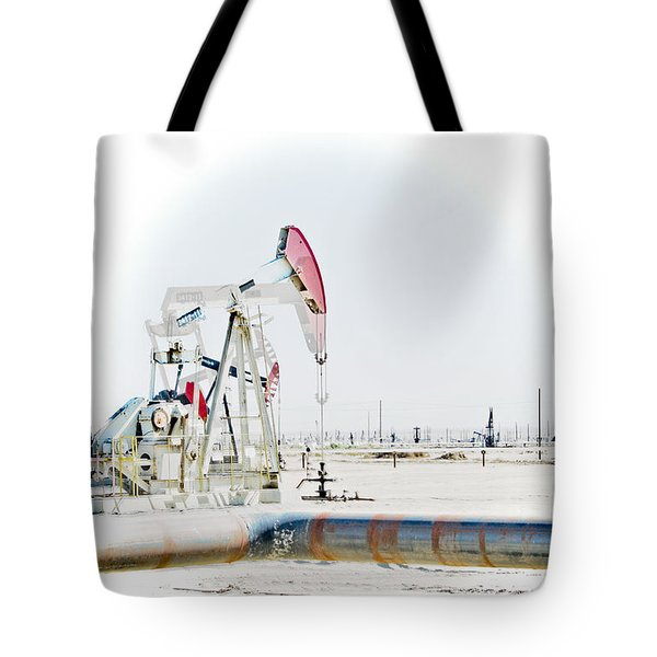 Oil Field Tote Bag