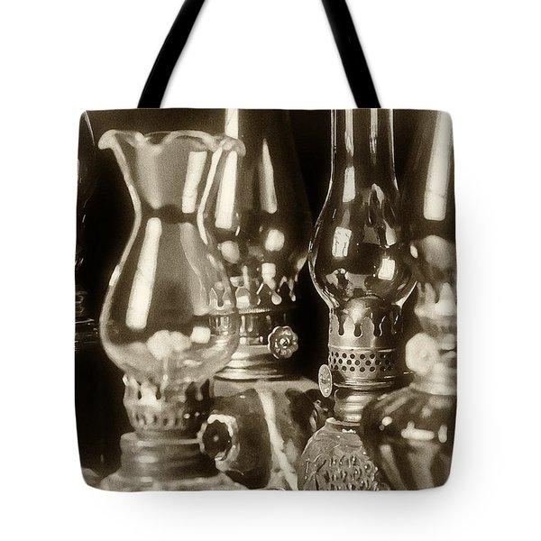 Oil Lamps Tote Bag by Patrick M Lynch