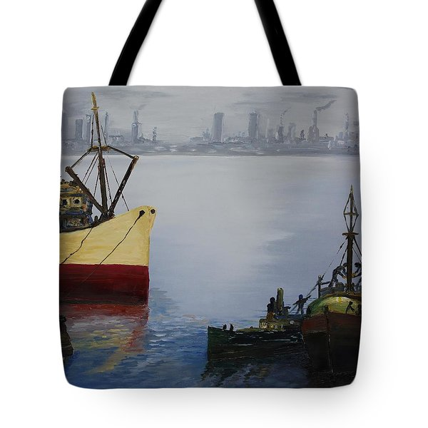 Oil Msc 025  Tote Bag