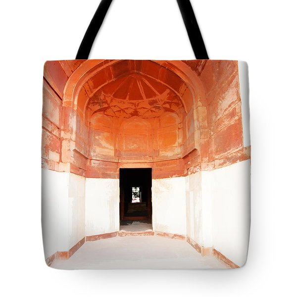 Oil Painting - Doorway In Humayun Tomb Tote Bag
