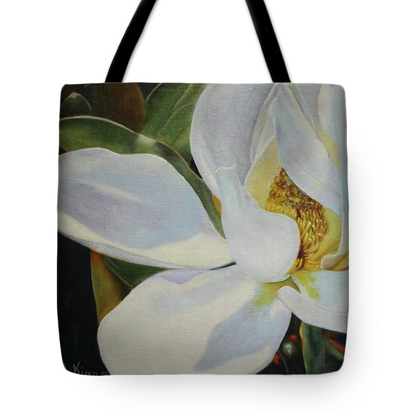 Oil Painting - Sydney's Magnolia Tote Bag