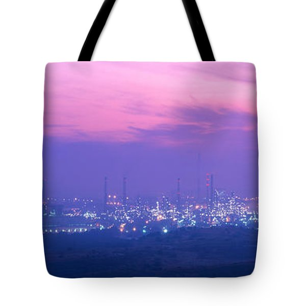 Oil Refinery, Andalucia, Spain Tote Bag