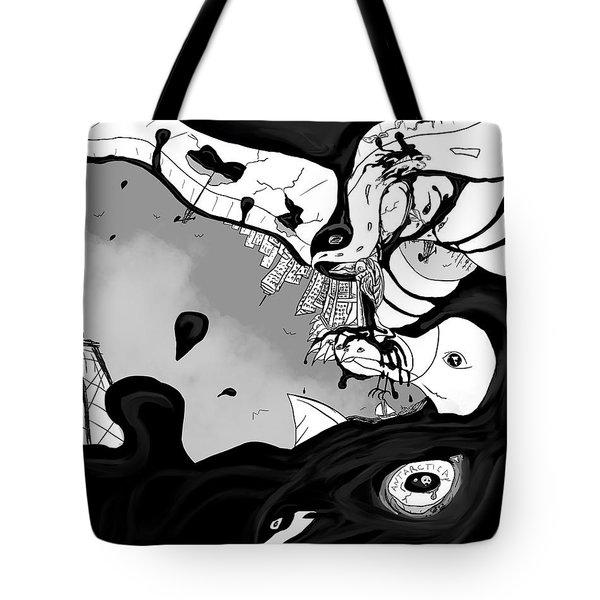 Oil Spill Tote Bag