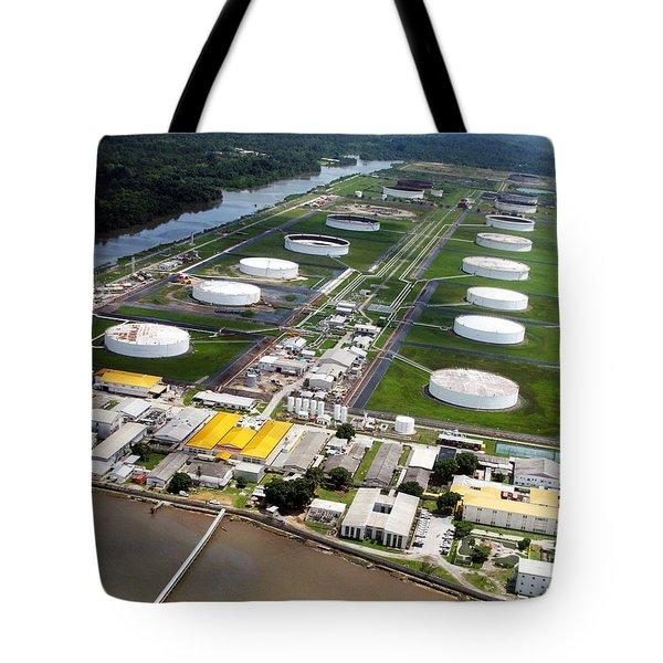 Oil Tank Farms  Tote Bag