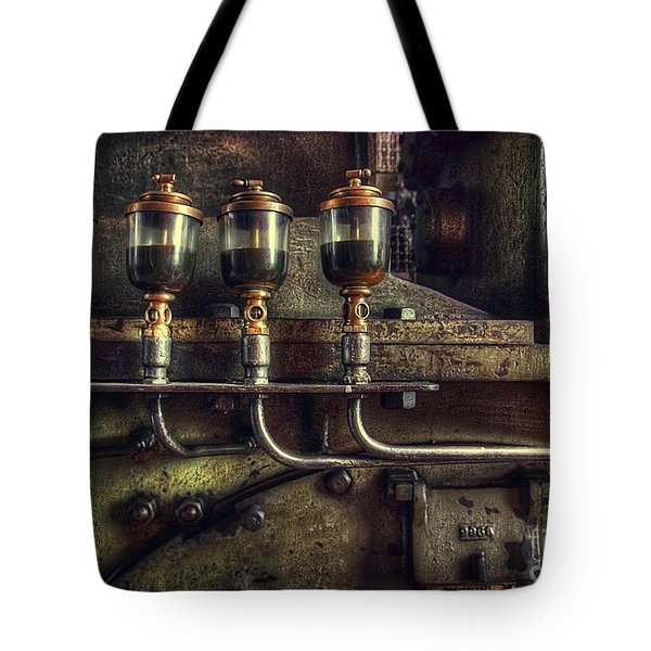Oil Valves Tote Bag