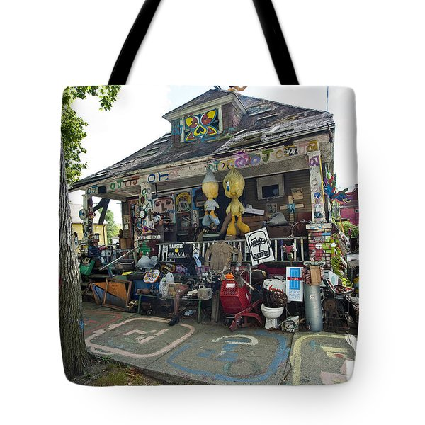 Oj House Tote Bag