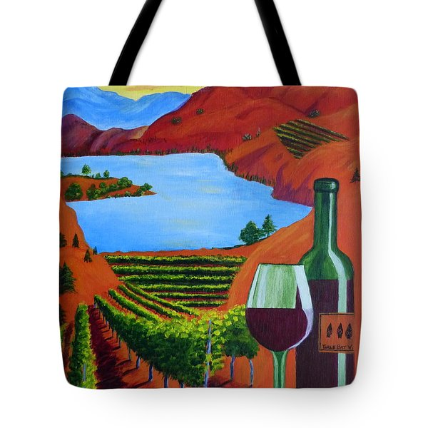 Okanagan Wine Country Tote Bag