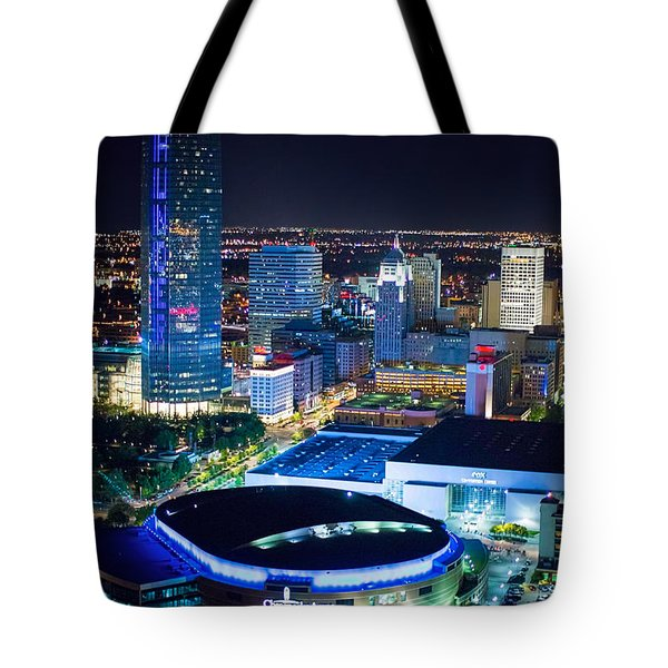 Okc0054 Tote Bag by Cooper Ross