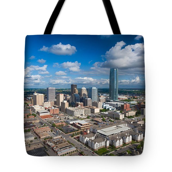 Oklahoma City Tote Bag by Cooper Ross
