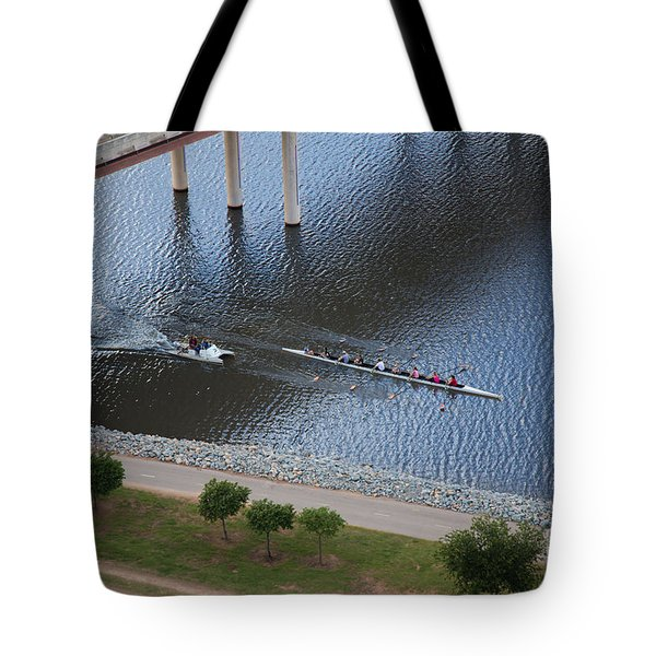 Oklahoma City Row Team Tote Bag by Cooper Ross