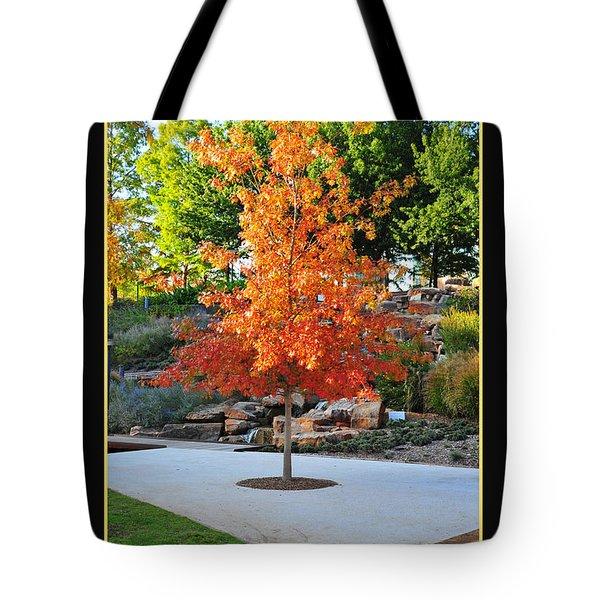 Oklahoma Fall Tote Bag by Randi Grace Nilsberg