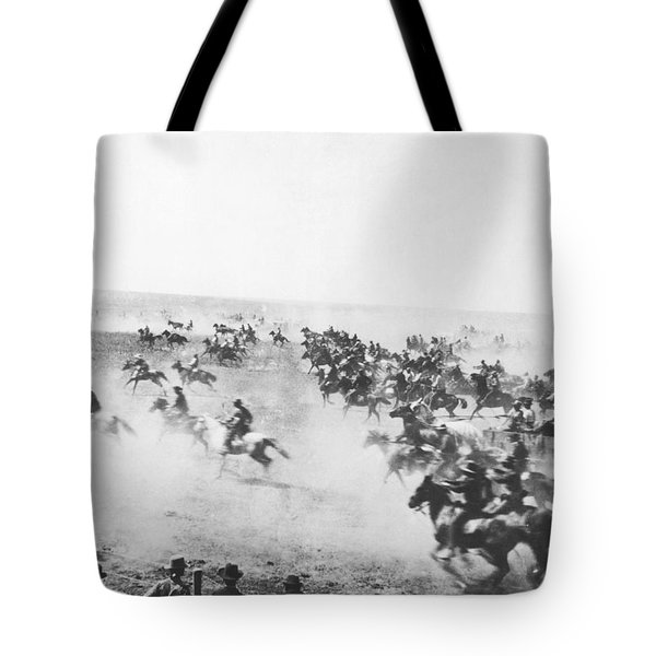 Oklahoma Land Rush Tote Bag